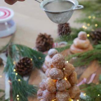 Doughnut Croquembouche