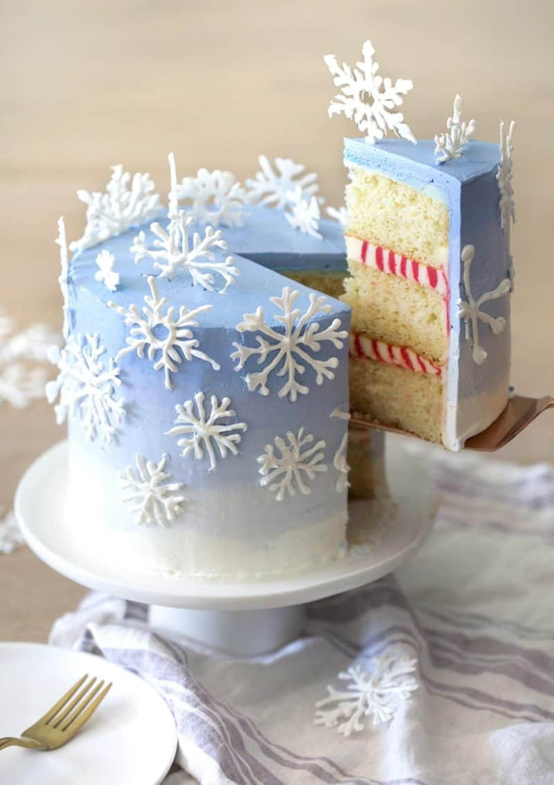 Snowflake Cake Preppy Kitchen