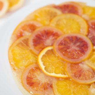 Orange Upsidedown Cake