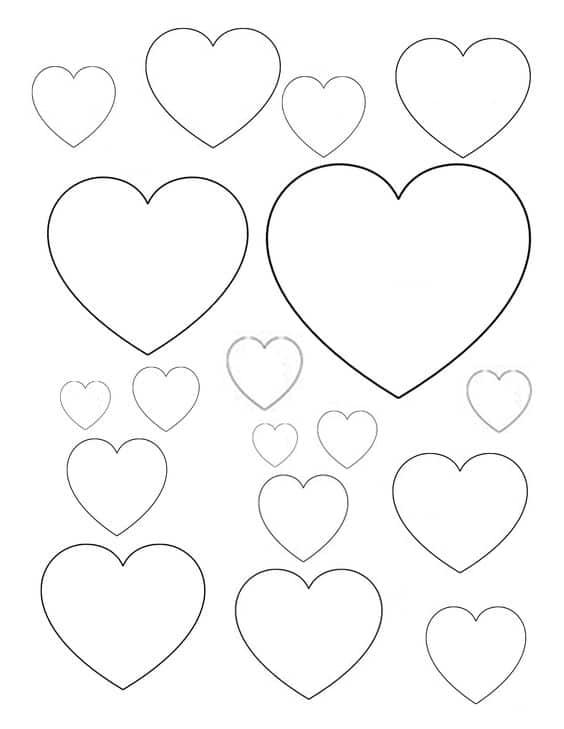 avery template 5418 - heart cake template gallery template design ideas