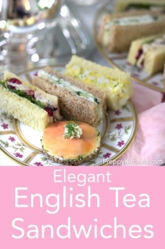 English Tea Sandwiches