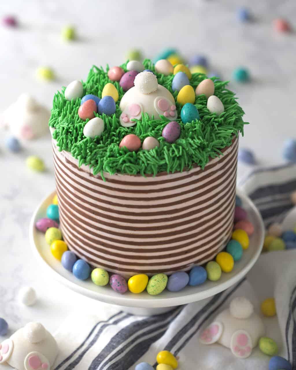 Bunny Butt Easter Cake Preppy Kitchen