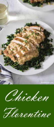 Baked Chicken florentine