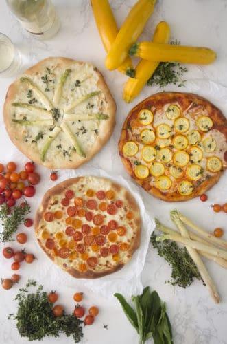 Spring Pizzas