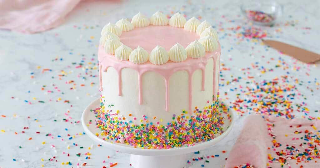 Awe Inspiring Funfetti Cake Preppy Kitchen Funny Birthday Cards Online Elaedamsfinfo
