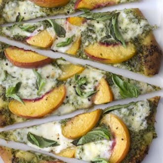 Peach Pizza