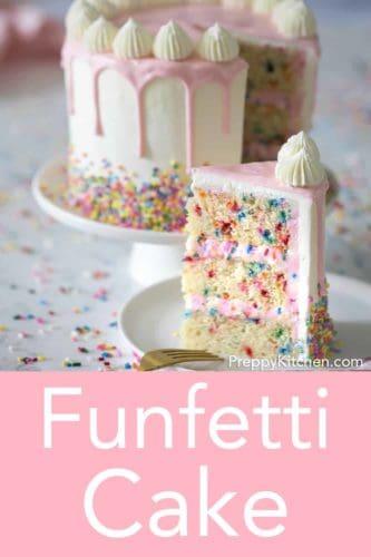 Funfetti Cake - Preppy Kitchen