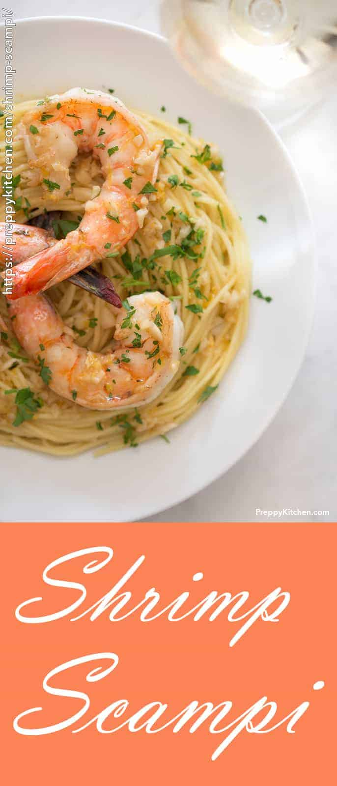 This easy and ultra-satisfying twenty minute meal is packed with lemony, garlic goodness! Buttery pasta topped and delicious sautéed shrimp make for a perfect pair.