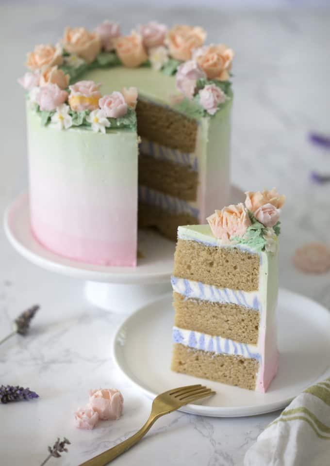 Lavender Cake