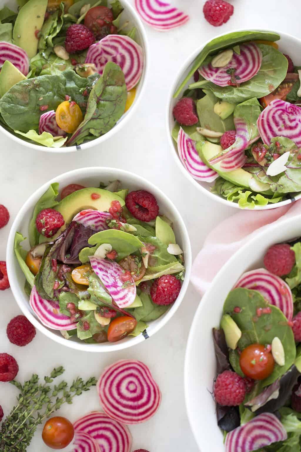 Raspberry Beet Salad
