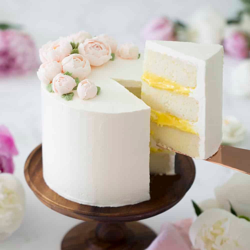 Wedding Cake Recipe.Elderflower Cake