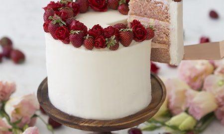Astounding Strawberry Cake Preppy Kitchen Personalised Birthday Cards Paralily Jamesorg