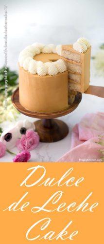 Dulde de Leche Cake