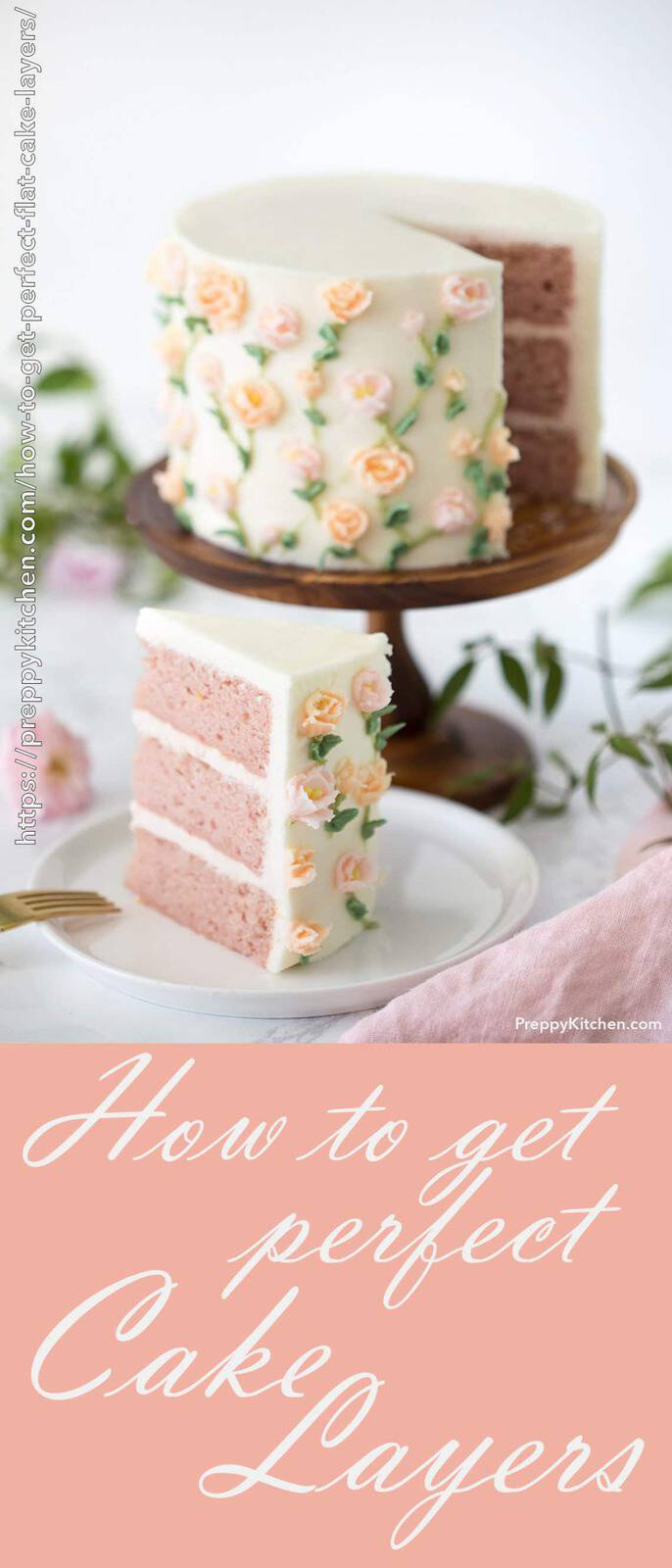How to Get Perfect Cake Layers