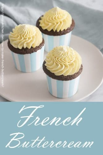 A pin for french buttercream