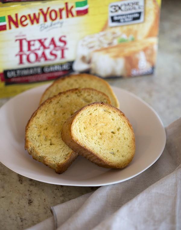 A Texas toast photo