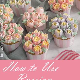 A pinterest image for russian piping tips