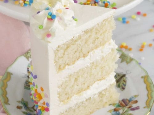 Awesome White Cake Recipe Preppy Kitchen Funny Birthday Cards Online Aeocydamsfinfo