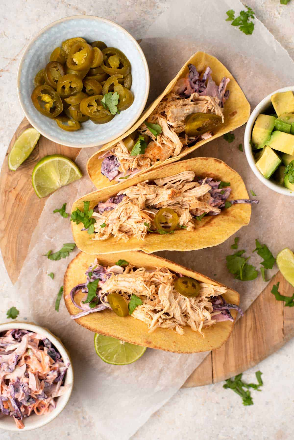 Instant Pot Chicken Tacos Preppy Kitchen