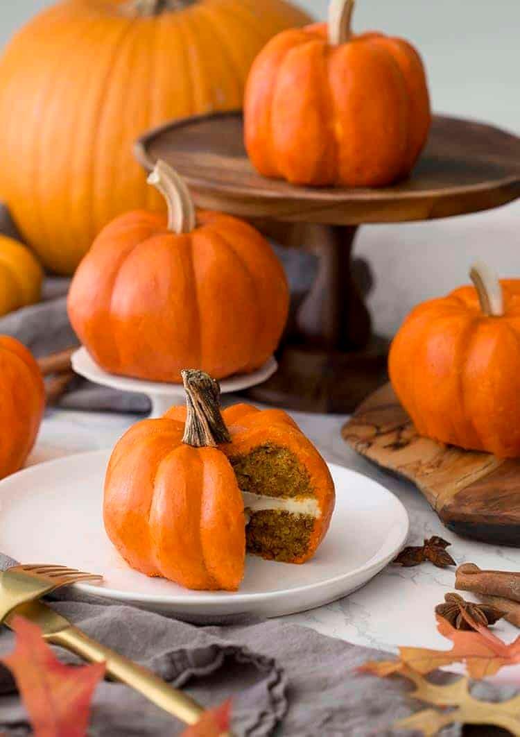 Mini Pumpkin Cake Preppy Kitchen