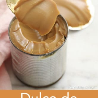 can of dulce de leche