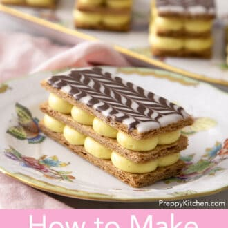 Delicious Mille Feuille