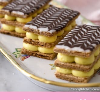 Three Mille Feuilles.